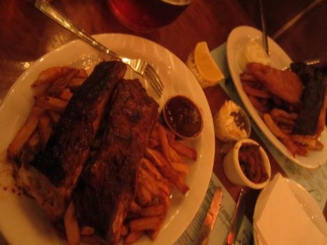 Yummo ribs!
