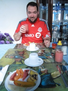 Breakfast at the Casa